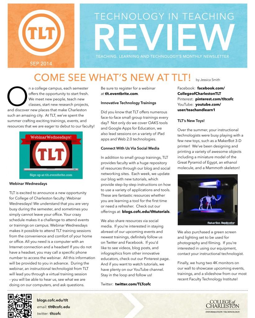 TLTNewsletterSep2014-1