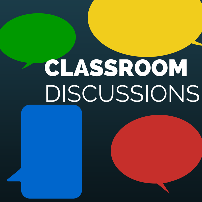 classroom discussion image