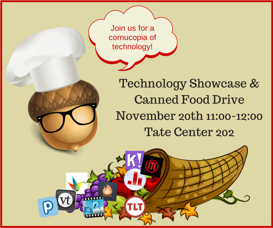 Giving Thanks for Technology: November Faculty Showcase