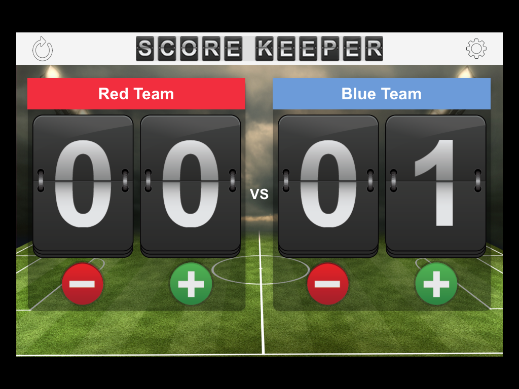 Score Keeper Screenshot