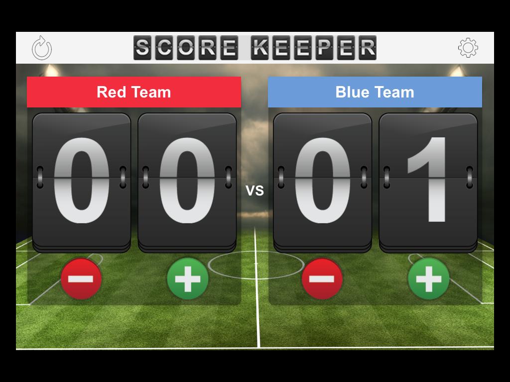 Score Keeper Screenshot