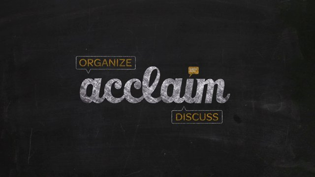Assess Student Presentations with Acclaim