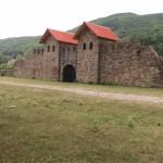 Roman Fort of Arutela, Caciulata, Valcea County, Romania, 2nd to 3rd century CE.