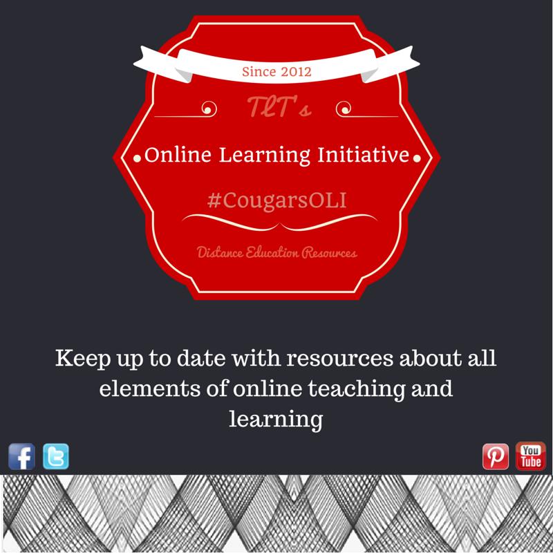 TLT's Distance Education Resources Blog
