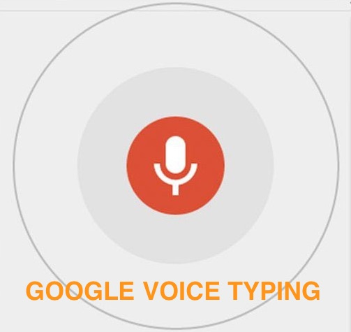 Let Google Do The Typing For You With Voice Typing