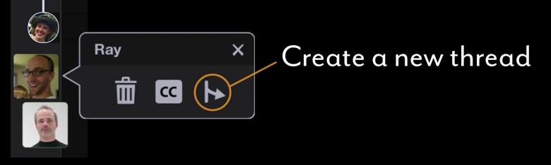 Voicethread Create a New Thread