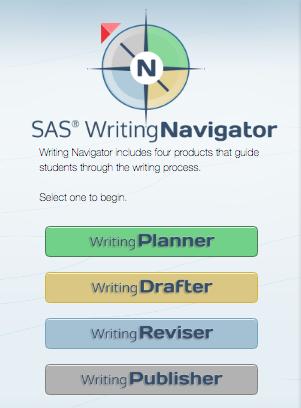 SAS Writing Navigator - planner, drafter, reviser, publisher