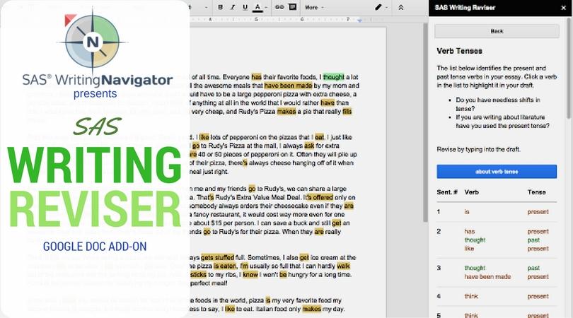 #OneNewThing – SAS Writing Reviser