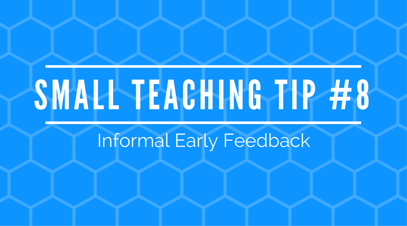 Small Teaching Tip #8: The Problem with Student Course Evaluations