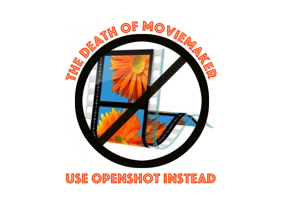 the death of moviemaker, use openshot