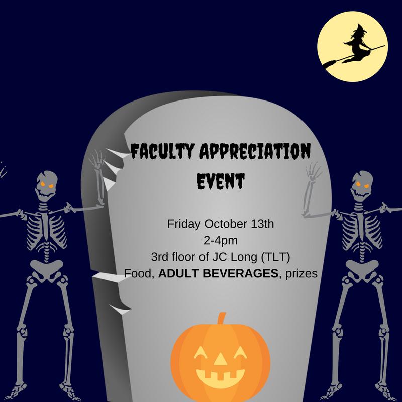 Faculty Appreciation Event