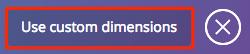 Canva custom dimensions