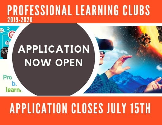 Professional Learning Club Applications are OPEN!