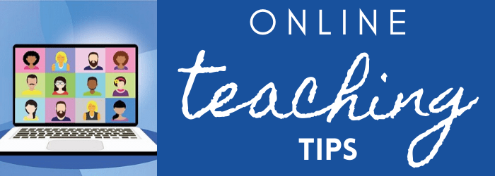 Online Teaching Tip:  Determine how your students can comment in VoiceThread