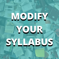 MODIFY YOUR SYLLABUS