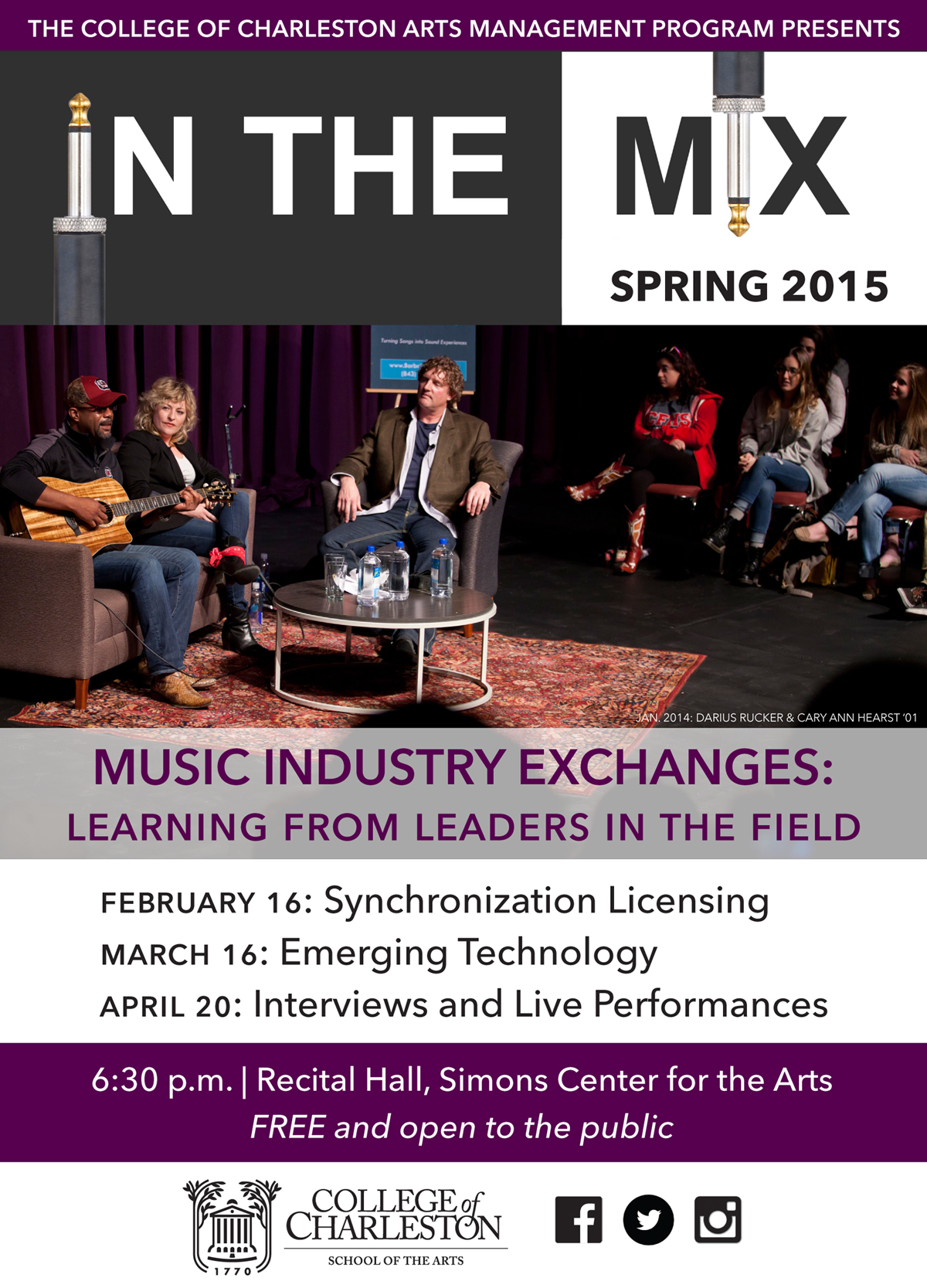 IN THE MIX Music Industry Series Continues