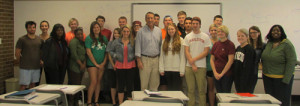 American Government class with Congressman Mark Sanford
