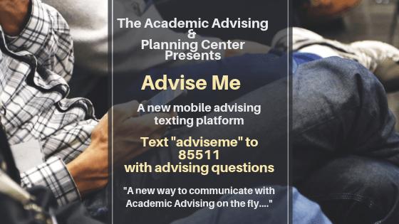 Advise Me Flyer