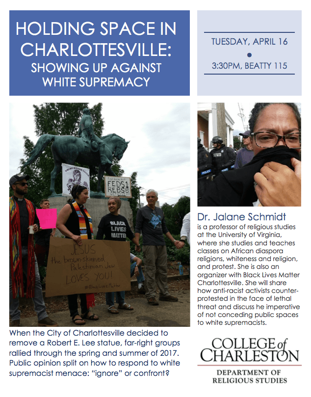 Holding Space in Charlottesville