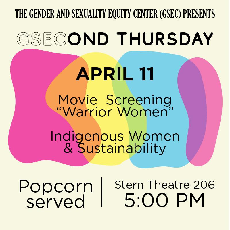 GSECond Thursday Warrior Women Screening