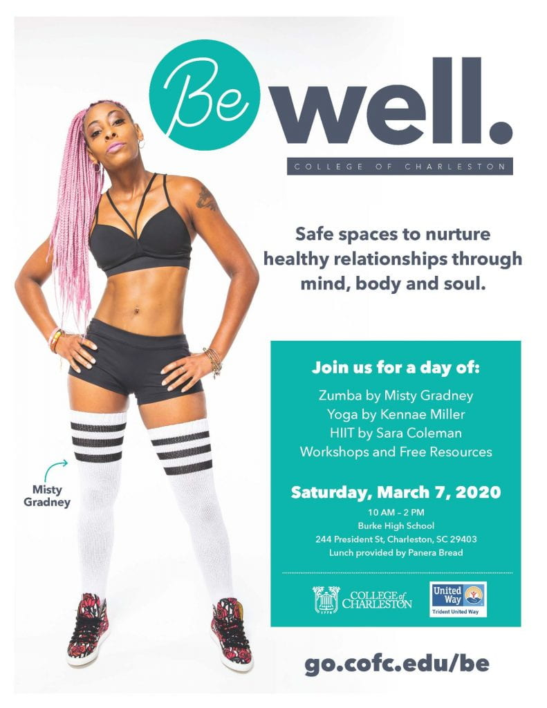 be well expo flyer