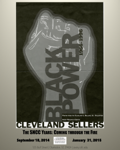 Poster from Cleveland Sellers Collection