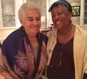 (l-r) Dr. Myrtle Glascoe with Linda Holmes