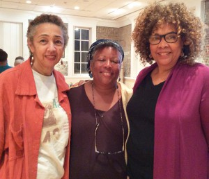 (l-r) Dr. Millicent Brown, Linda Holmes, Julie Dash