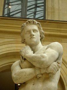 """Spartacus"" by Denis Foyatier. Louvre"