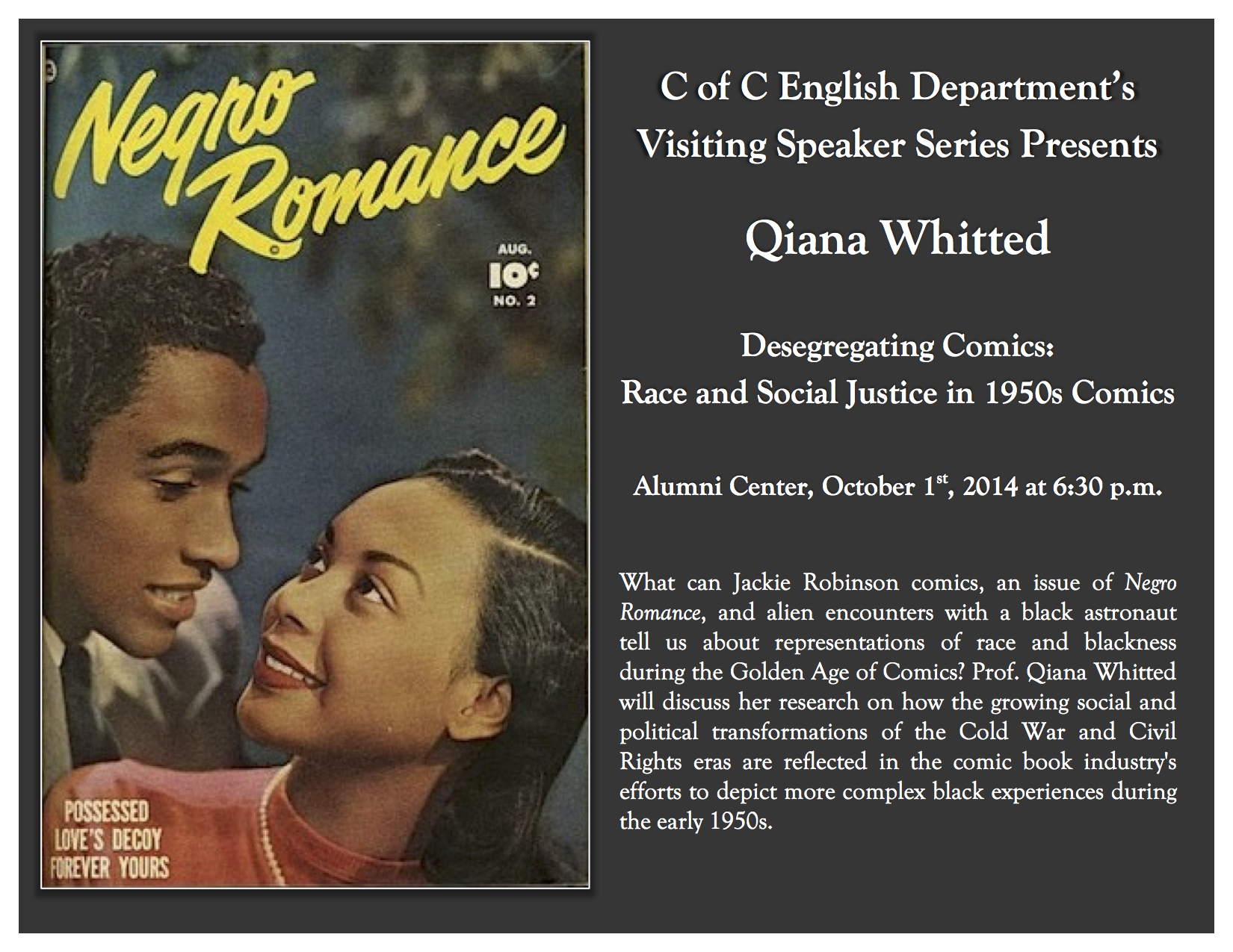 Qiana Whitted Poster