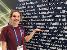 Naomi at the Intel ISEF 2018