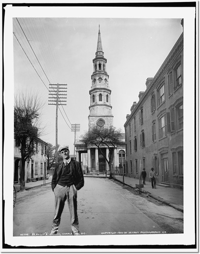 Joyce in Charleston