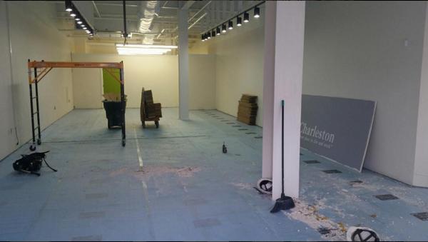 First Floor Work Site