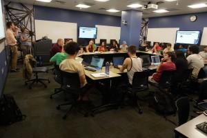 Cybersecurity club meeting