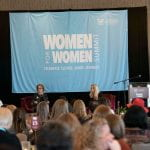 Picture of the inaugural Women for Women Summit presented by the College of Charleston School of Business