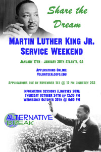 MLK Service Weekend