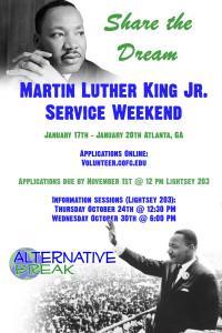 MLK Service Weekend