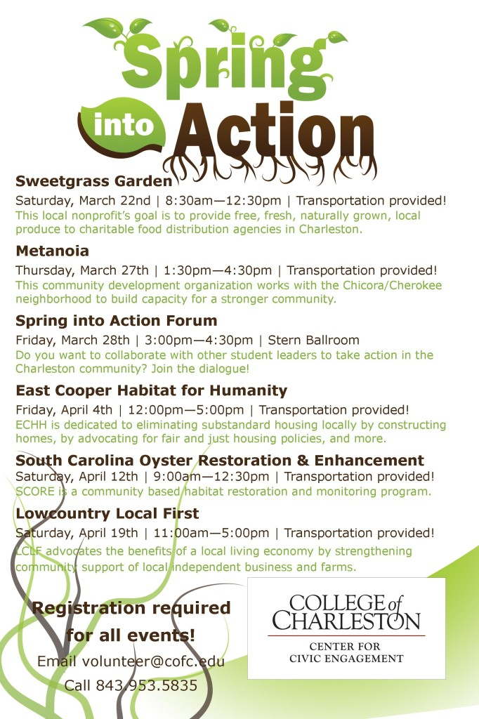 Spring Into Action Poster