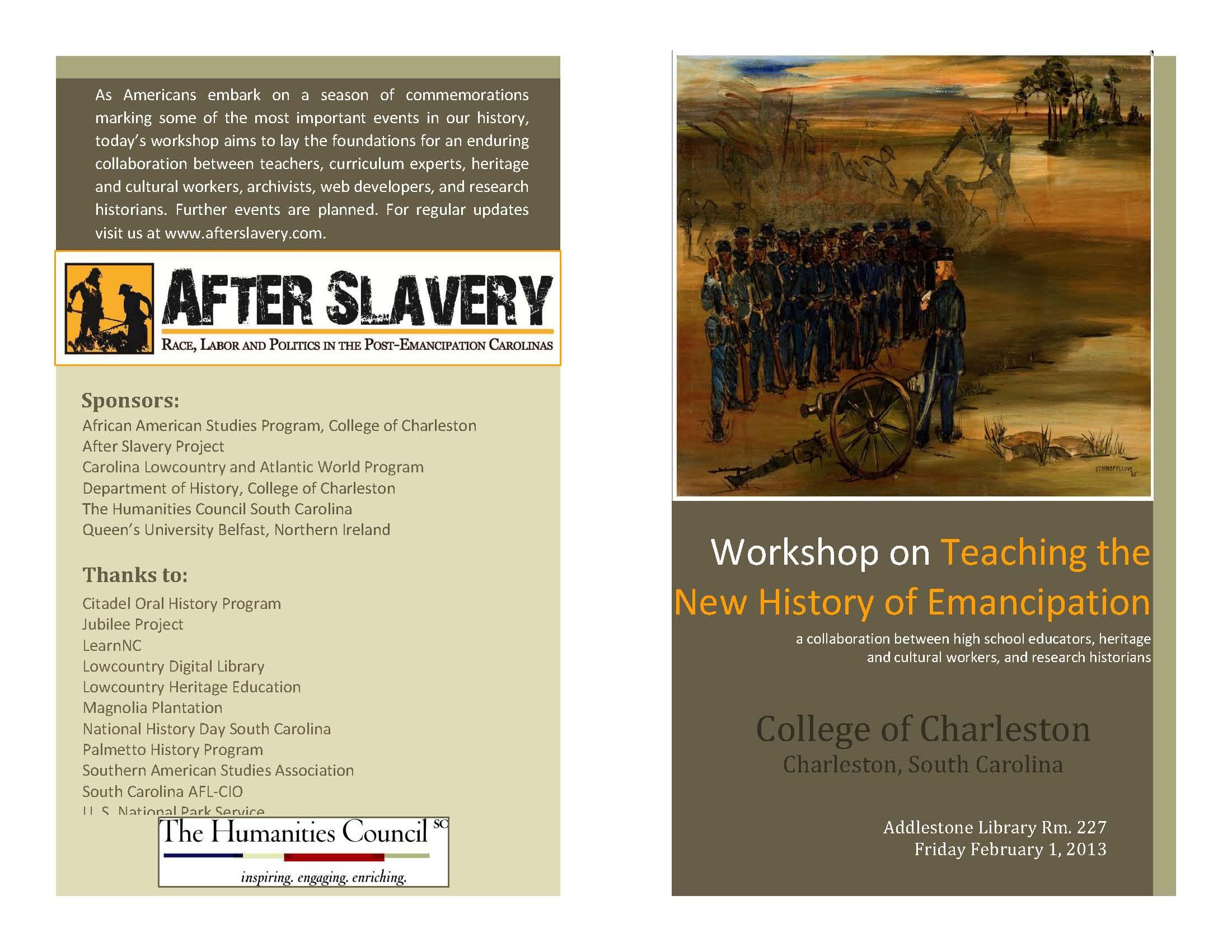 Charleston Workshop Program_Page_1