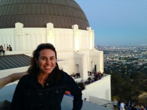 Glenn at Griffith Observatory