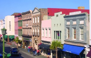 The shops on King Street