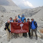 At Gomukh Glacier
