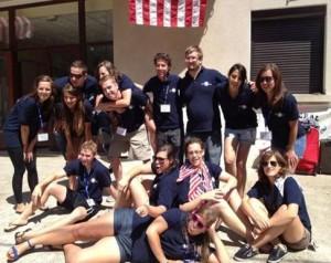 Tour de Buis team on Graduation Day