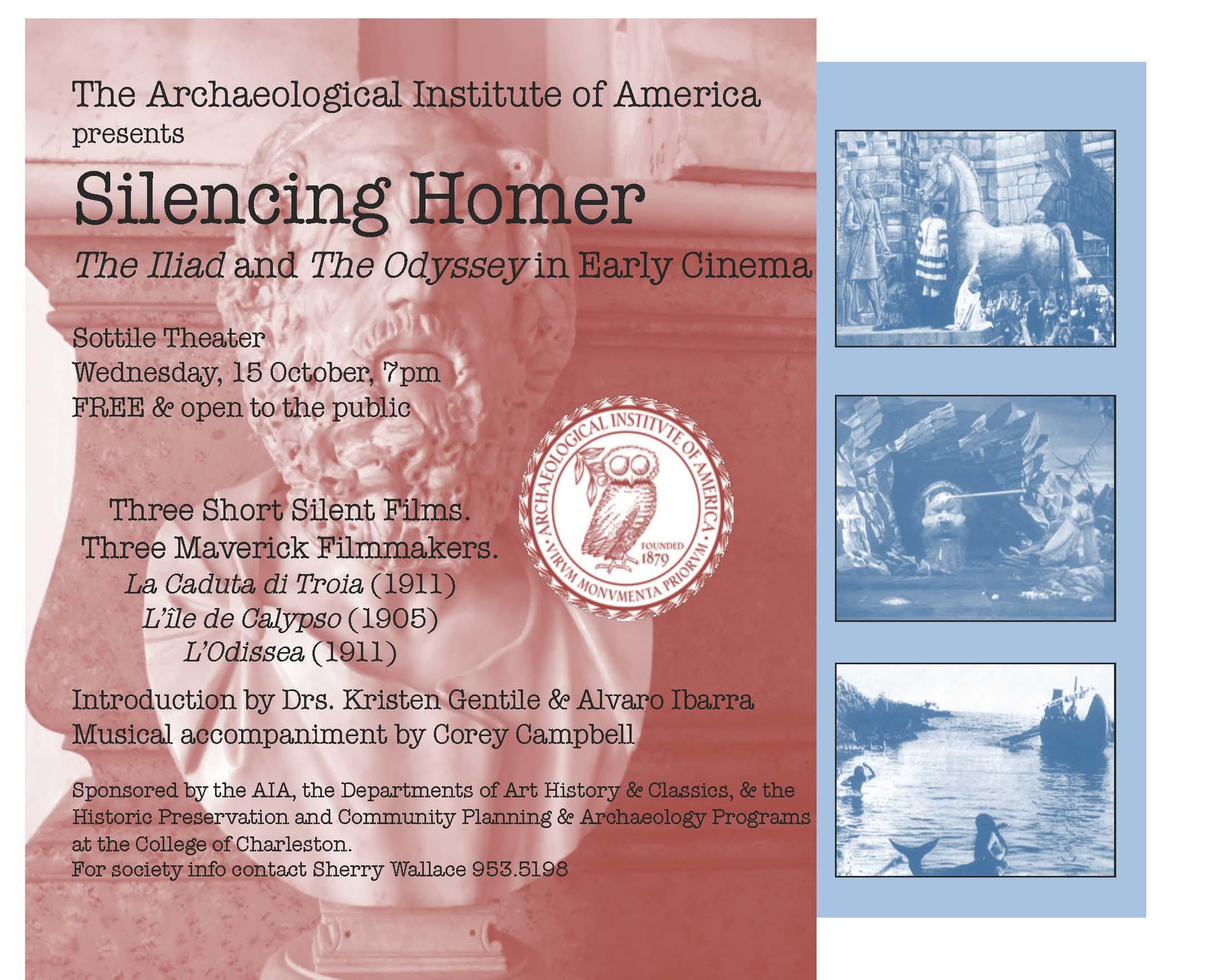 Silencing Homer flier5
