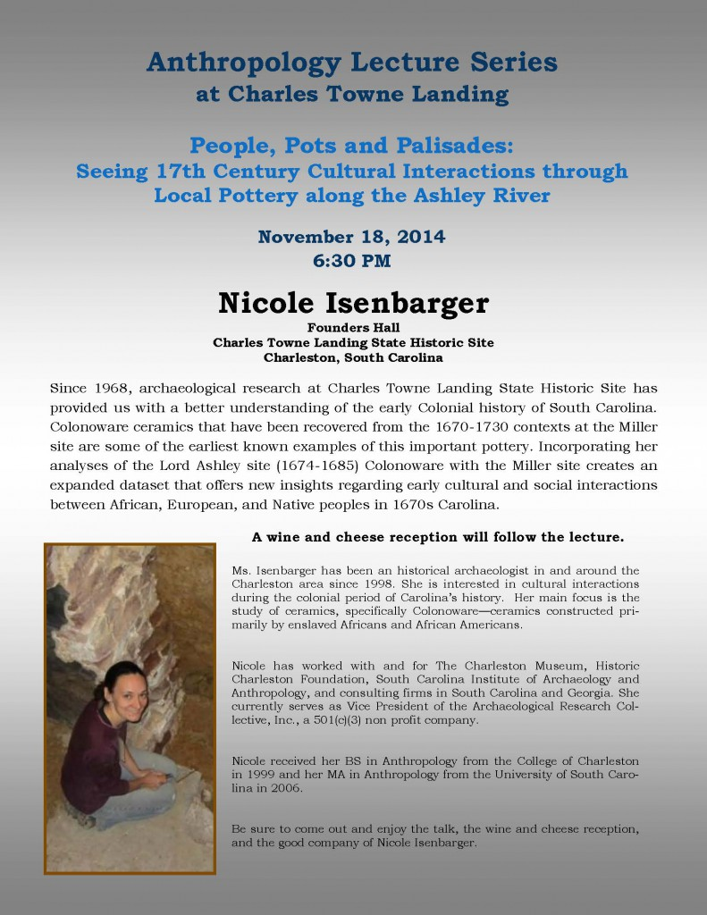 November 2014- Isenbarger Flyer - Nov - Copy