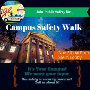 Campus Safety Walk