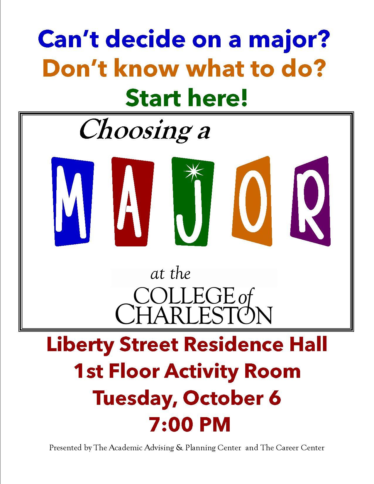 choosing a major workshop choosing a major 2