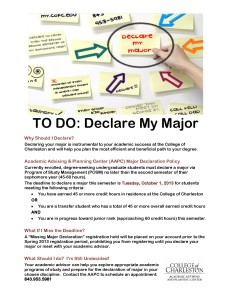 Declare Your Major Fall 2013