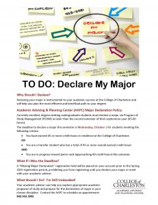 Declare Your Major Fall 2014