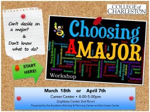 Choosing A Major Workshop